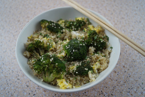 broccoli-cauliflower-egg-quinoa-skillit-cooking-skillet-recipes