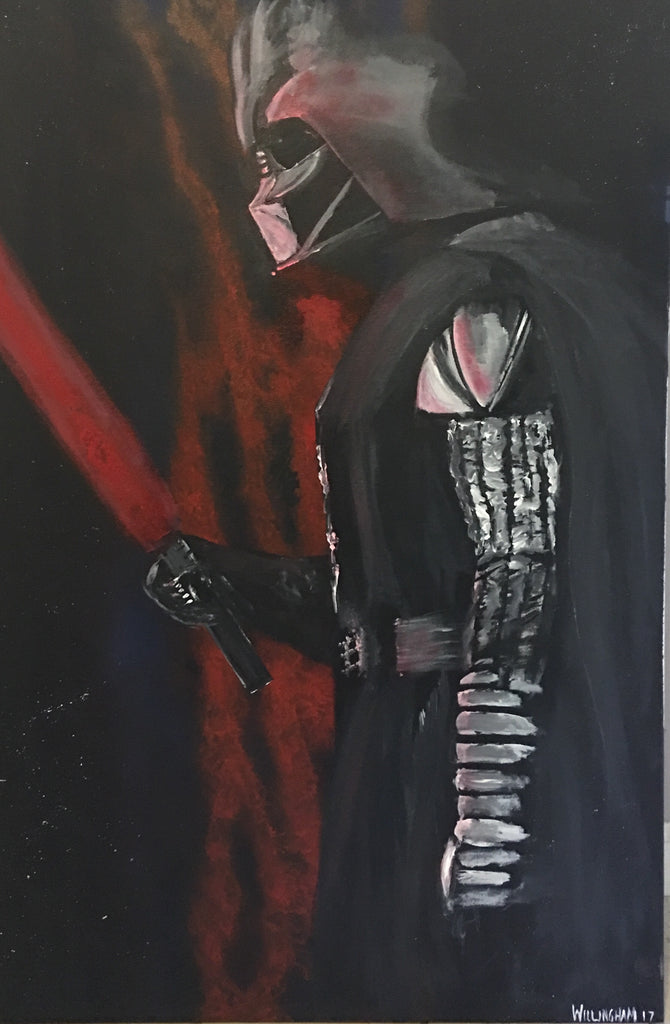 Print of Dark lord of the sith
