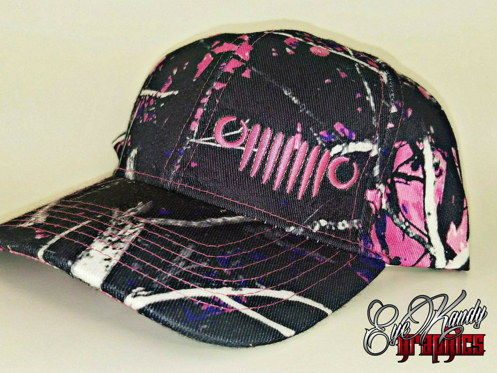 Pink Camo Jeep Hat / Jeep Life / Jeep Hat / Go  / Jeep logo