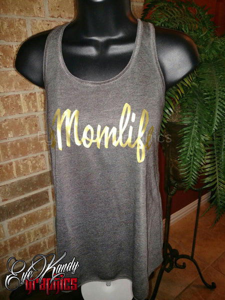 #momlife tank top