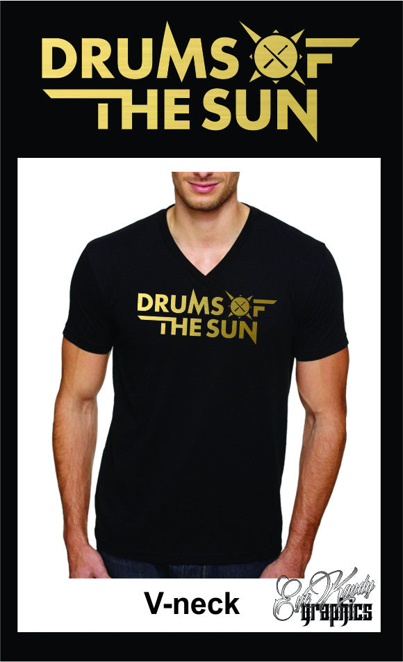 Drums of the Sun Men's V-neck