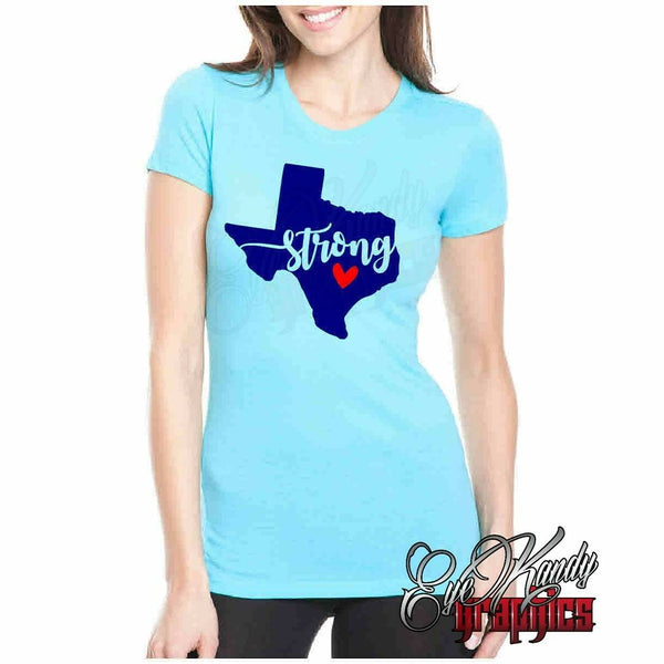 Texas Strong Women's Tee - Recovery Fundraiser