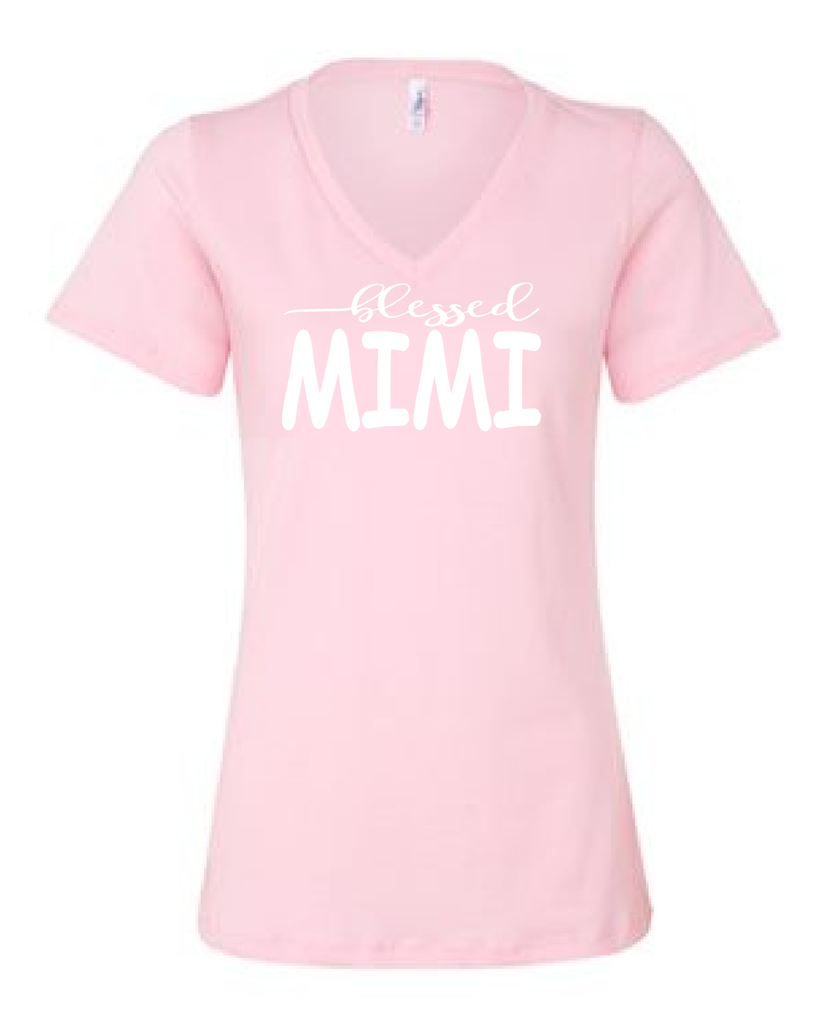 Blessed Mimi/mom shirts/gift for mom/mothers day gift/mom tees/mom t-shirt/mom tops