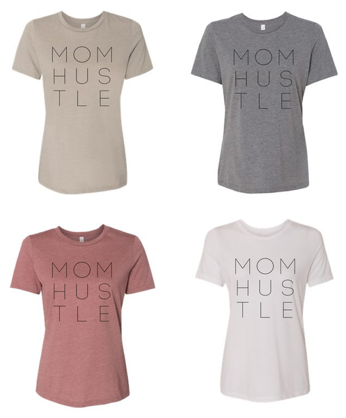 MOMHUSTLE / MOM HUSTLE / Mom shirt / Mother's Day tee / gift for Mom