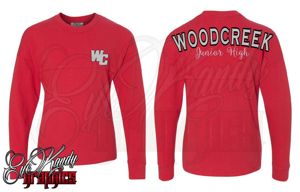 WOODCREEK Junior High Game Day Spirit Jersey