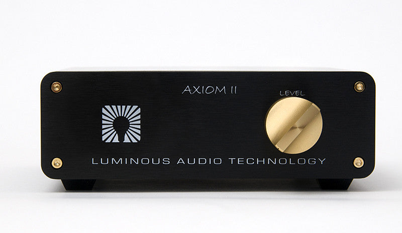 Audiophilia - The Luminous Audio Axiom II Signature Passive Preamplifier