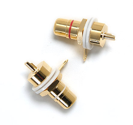 Gold Plated RCA Jacks