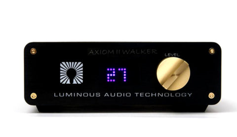 Axiom II Passive Preamp Walker Mod with Remote XLR