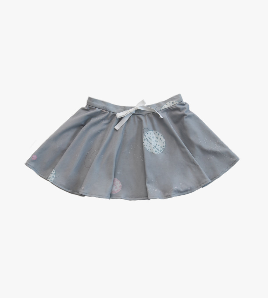 Treasure Pocket Skirt in Pink Planet