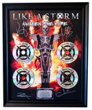"""Awaken The Fire"" Collectible Framed CD Plaque"