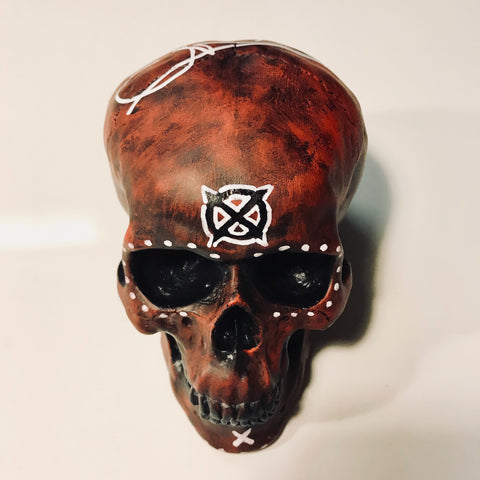 Chris Brooks Limited Edition Painted Skulls