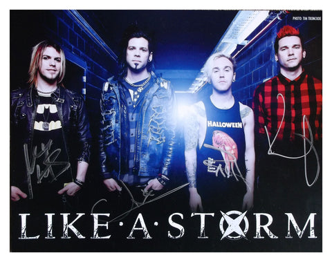 SIGNED European Band Photo Print