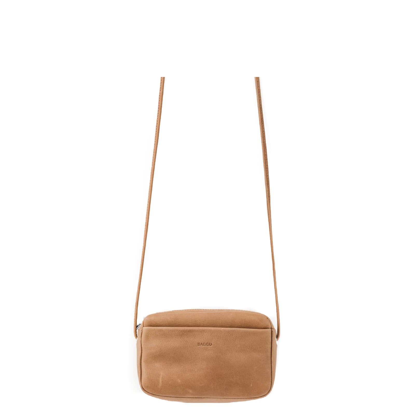 MINI PURSE LEATHER BAGGU MINIMAL
