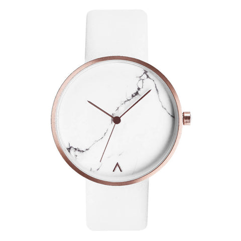 MARBLE WATCH WHITE