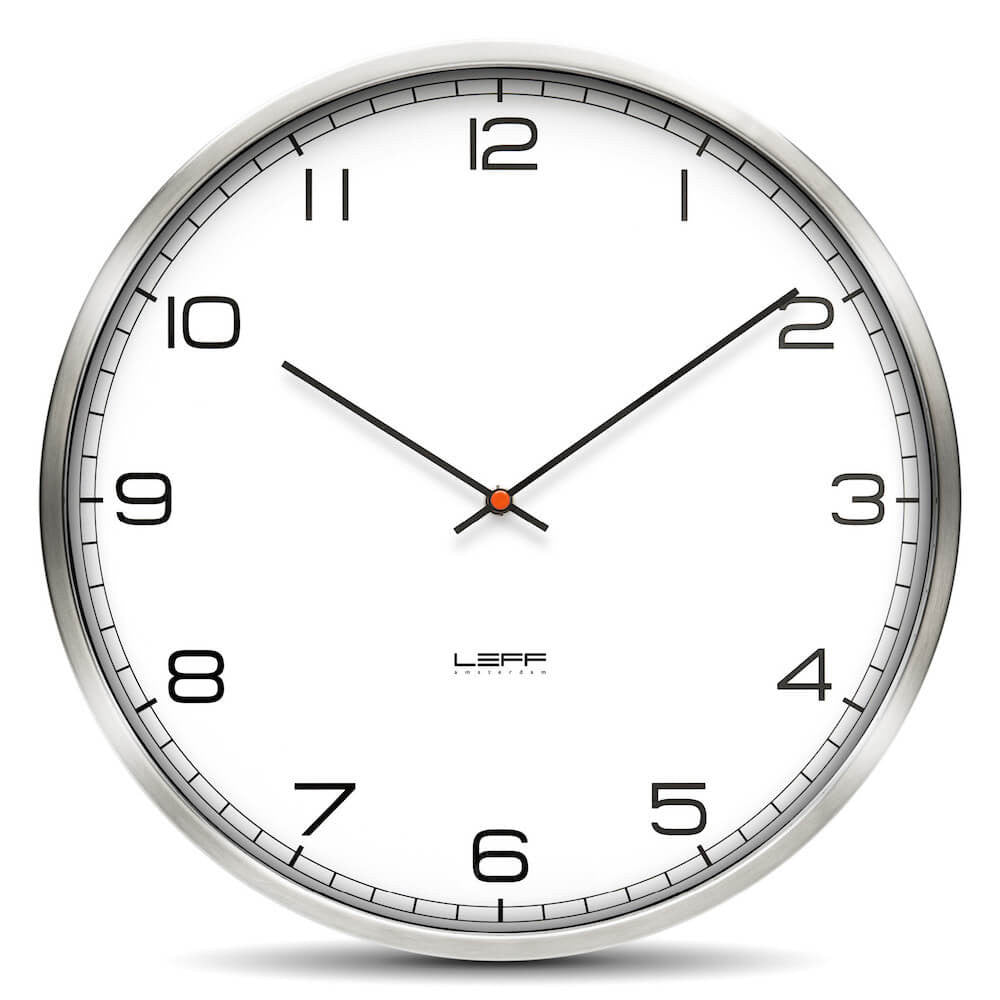 leff amsterdam wall clock one45