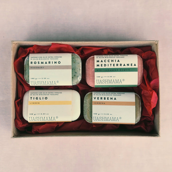 Pack of 4 Organic Soaps