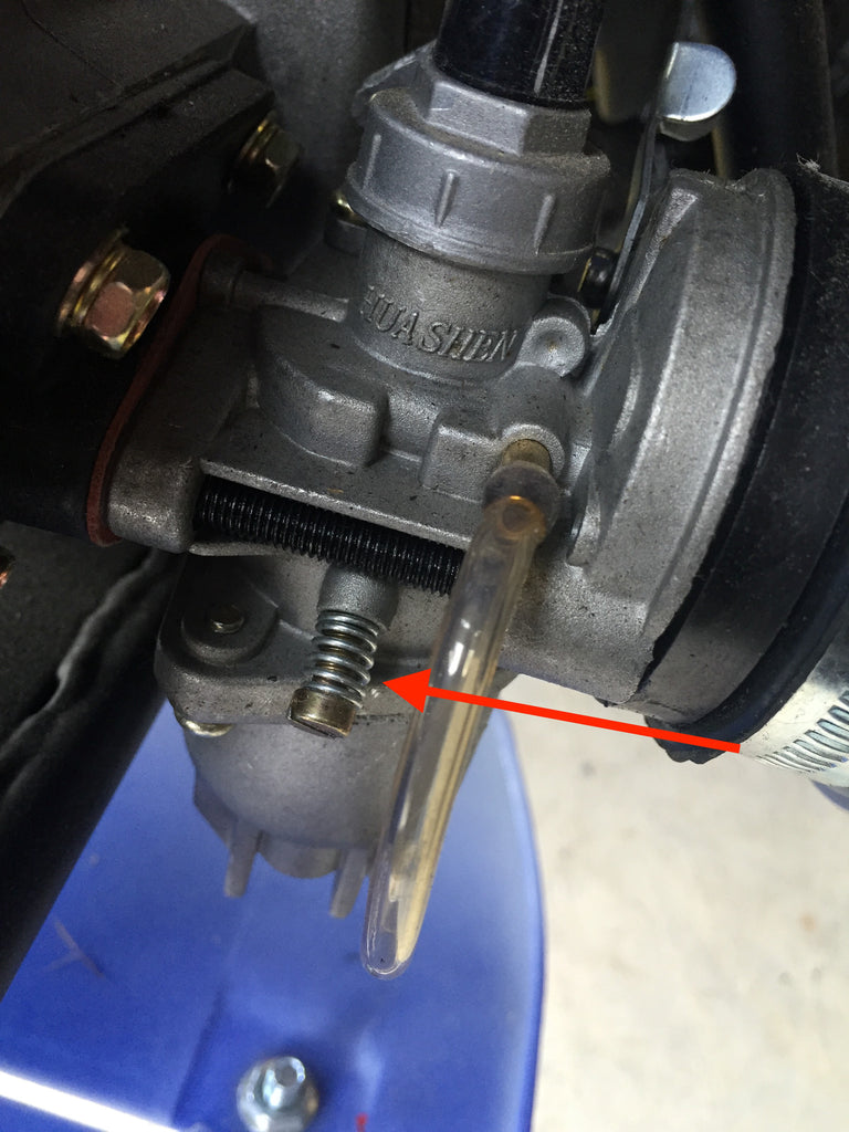 What to do if my bike does not stay on? It turns off on its own! - Adjusting the idle screw on all 49cc engines! - Bike wants to take off on its own when idling? How do I adjust the idle?