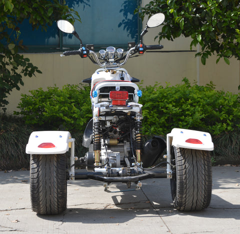 Honda Ruckus Boom Moped scooter Rat Rod racer 50cc automatic California approved moped