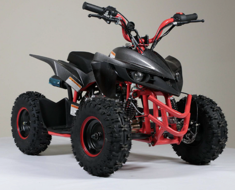 Kandi KXD 50cc sport quad 4 wheeler atv for kids red kd60a-2 kd60a-1