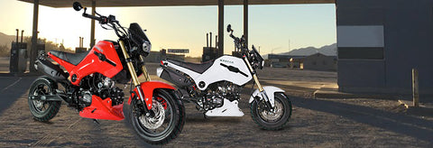 Icebear Fuerza PMZ125-1 from belmonte bikes 125cc motorcycle