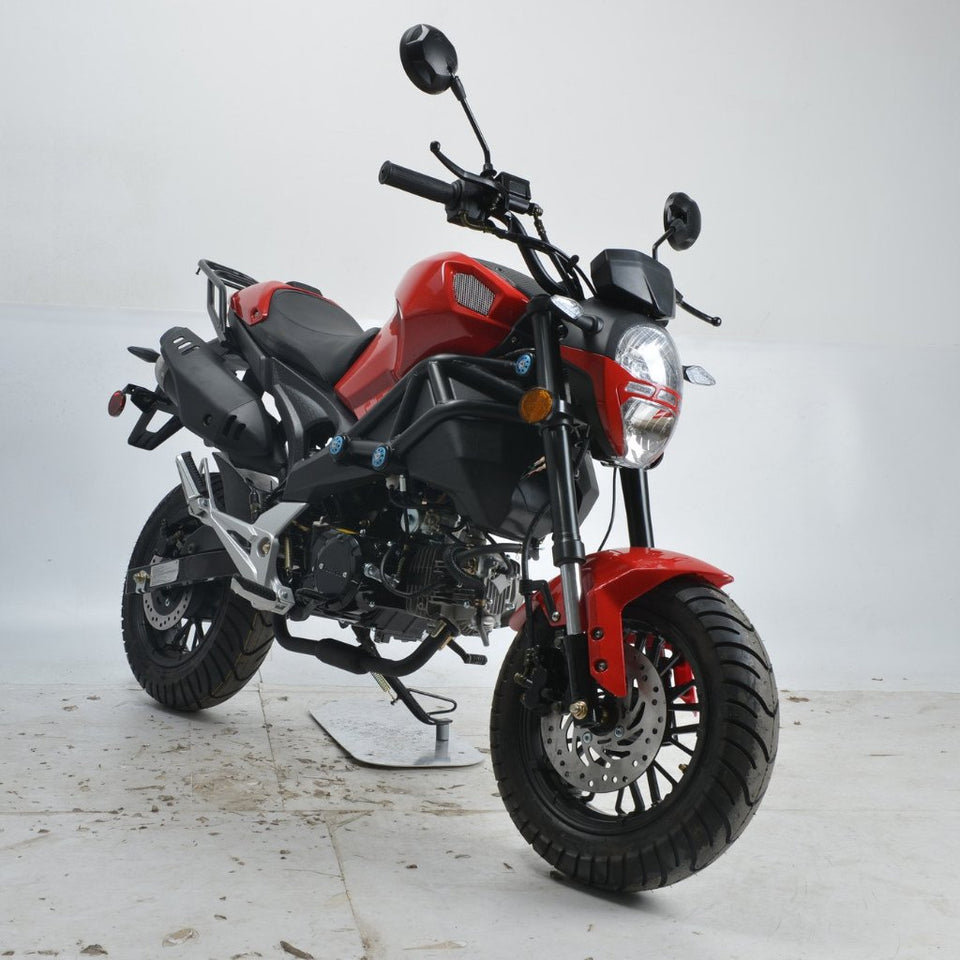 Boom Ducati clone BD125-8 125cc motorcycle street legal red