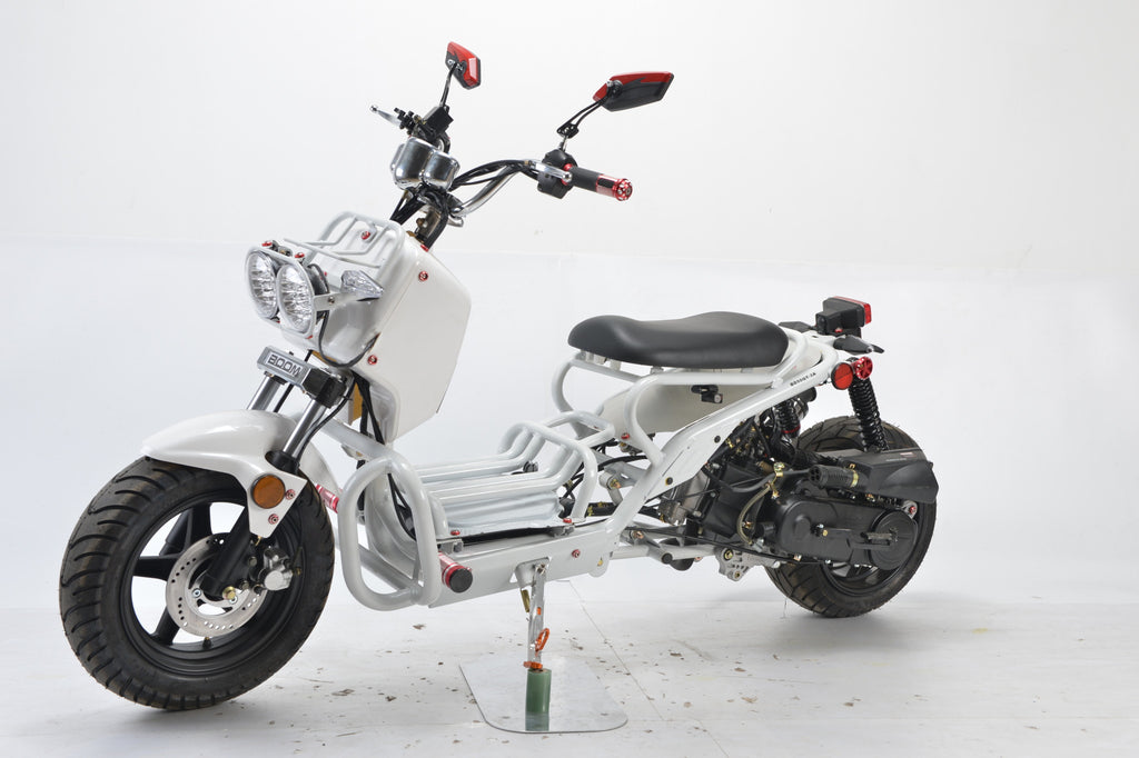 Buy Boom 50cc Ruckus Moped Scooter Mad Dog –Street Legal BD50QT-3A ...
