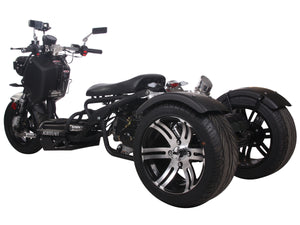 PST50-19N trike icebear scooter trike 3 wheel maddog scooter 50cc street legal