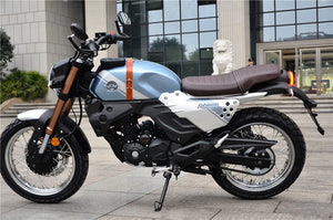 KPM200 Lifan 200cc Retro Motorcycle - Fuel-Injected - KP Master LF200-3B - California Legal