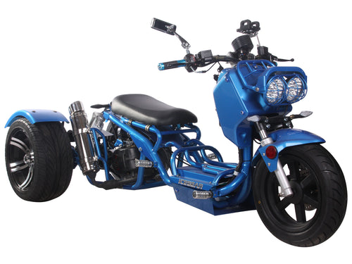 pst150-19n trike scooter moped 150cc automatic motorcycle icebear