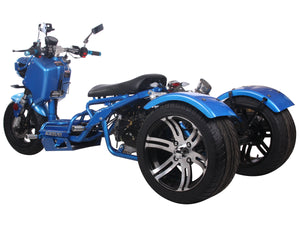 150cc maddog scooter pst150-19n moped trike 3 wheeler icebear