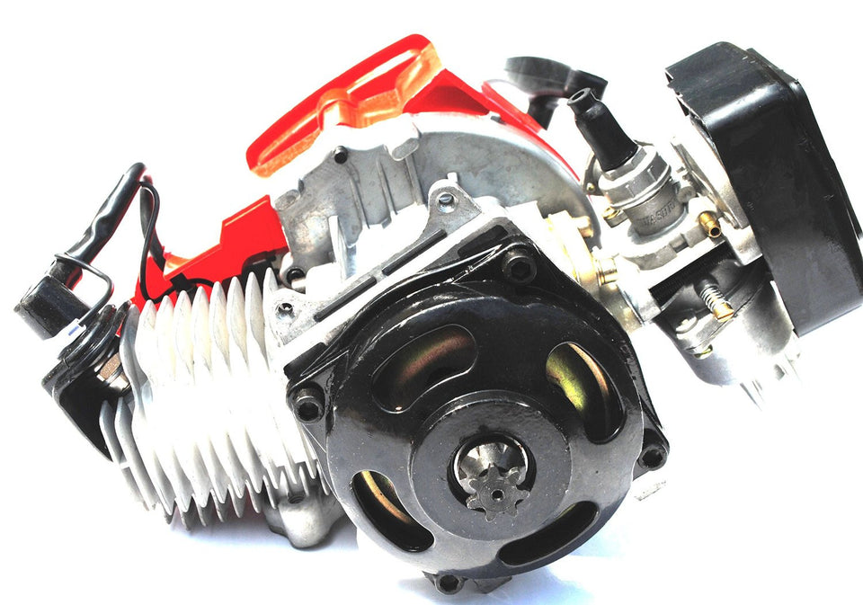 2-Stroke Engine Motor for Pocket Bike / Dirt Bike / ATV Quad / Go Kart 47cc 49cc