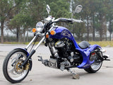 DongFang DF250RTF Mini Chopper Motorcycle Blue