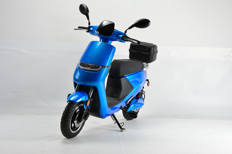 Boom Cirkit LED Electric Moped Scooter 500W 48V