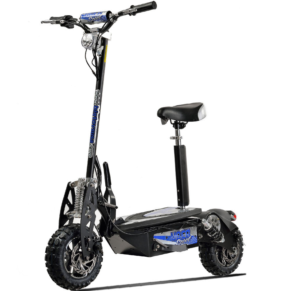 Electric Scooter With Seat >> Premium 1600 Watts Uberx 48v Electric Scooter Board W Seat