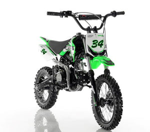 Apollo 110cc Motocross Dirt Bike - Semi Automatic DB-34 | AGB-34CRF-110