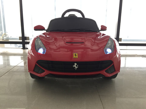 Ferrari F12 Berlinetta Electric Power Wheels Toy Car 12V - Red