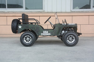 Willy's 125cc Mini Jeep Thunderbird UTV - PAZ125-1