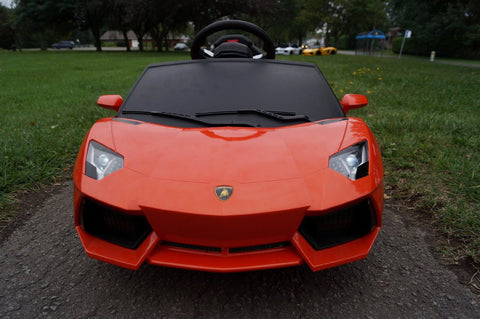 Lamborghini Aventador LP700-4 Electric Toy Car 6V - Orange