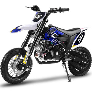 Hooligan 60cc Motocross Dirt Bike | MotoTec Kids | 4-Stroke Fully Automatic