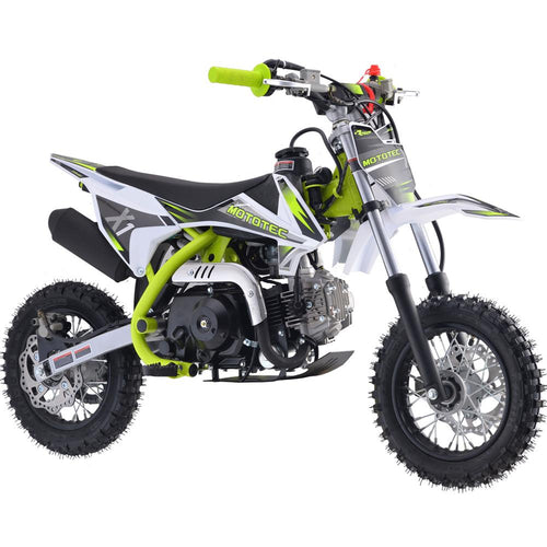 X1 70cc Motocross Dirt Bike | MotoTec Kids | 4-Stroke