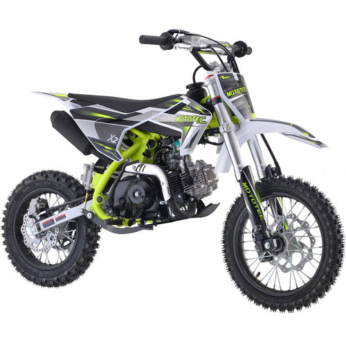X2 110cc Motocross Dirt Bike | MotoTec Kids/Teens | Semi-Automatic Transmission