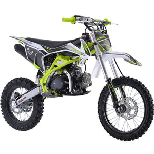 X3 125cc Motocross Dirt Bike | MotoTec Teen/Adult | 4-Speed Manual Transmission