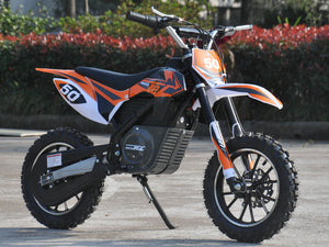 Premium Electric Dirt Bike Motocross 500 Watts 24 Volts