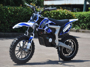 Electric Dirt Bike Motocross Lithium-Ion 36 Volts 500 Watts