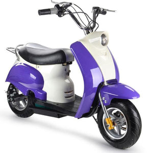 350w Electric moped scooter for kids big toys usa MT-EM_Purple