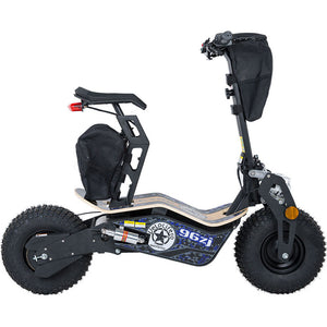 Velocifero 1600 Watts Mad Electric Scooter with Wood Deck - 48 Volts