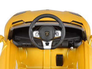 Lamborghini Aventador LP700-4 Electric Power Wheels Toy Car 6V - Yellow