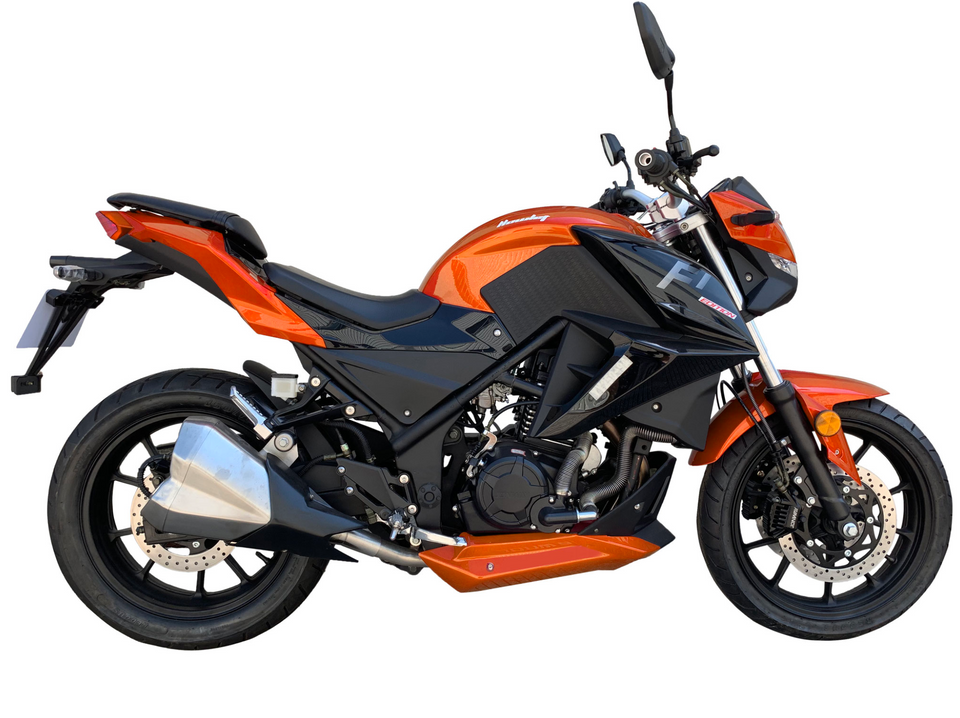 2019 GTO Vitacci 250cc Motorcycle - 5-Speed Fuel-Injected