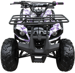 Coolster ATV3125XR8U ATV 125cc ATV3125XR8US 4 wheeler quad for cheap purple