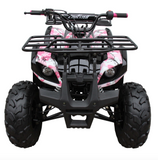 Coolster ATV3125XR8U ATV 125cc ATV3125XR8US 4 wheeler quad for cheap pink